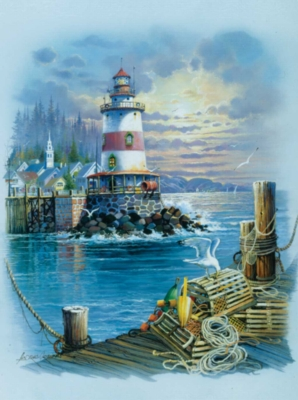 On the Wharf - 1000pc Jigsaw Puzzle By Sunsout