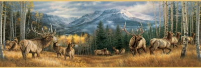 Backcountry Elk - 500pc Jigsaw Puzzle By Sunsout