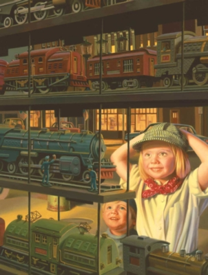 The Train Shop Window - 500pc Jigsaw Puzzle By Sunsout
