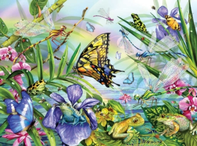 Jigsaw Puzzles - DragonFly Dance