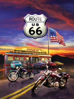 Jigsaw Puzzles - Route 66 Diner