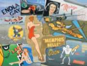 Jigsaw Puzzles - Nose Art Legends of WWII