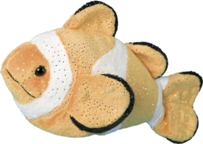 Bobo Clown Fish - 10'' Fish By Douglas Cuddle Toys