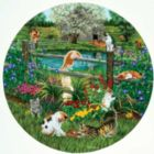 Cats at Play - 500pc Jigsaw Puzzle By Sunsout