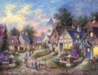 Twilight Village - 1000pc Large Format Jigsaw Puzzle By Sunsout