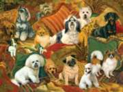 Pillow Puppies - 500pc Jigsaw Puzzle By Sunsout