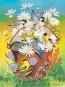 Jigsaw Puzzles - Bucket of Birds