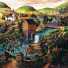 Yellow Ribbon Path - 1000pc Jigsaw Puzzle By Sunsout