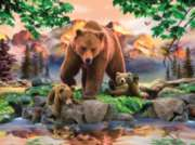 Mama Grizzly - 1000pc Jigsaw Puzzle By Sunsout