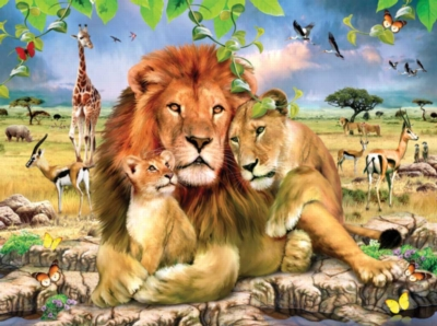 Jigsaw Puzzles - Lion's Pride