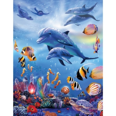 Seahorse Kingdom - 1000pc Jigsaw Puzzle By Sunsout