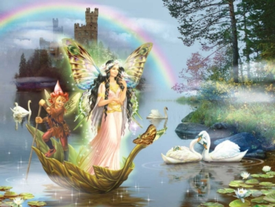 Jigsaw Puzzles - Swan Lake Fairy