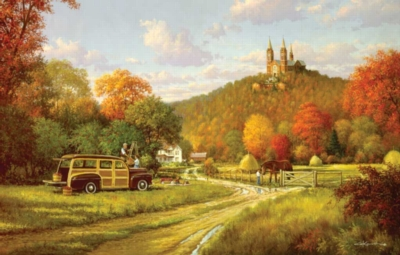 Autumn at Holy Hill - 1000pc Jigsaw Puzzle By Sunsout