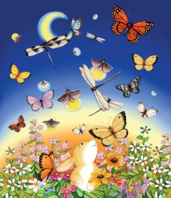 Firefly Dance - 200pc Jigsaw Puzzle By Sunsout
