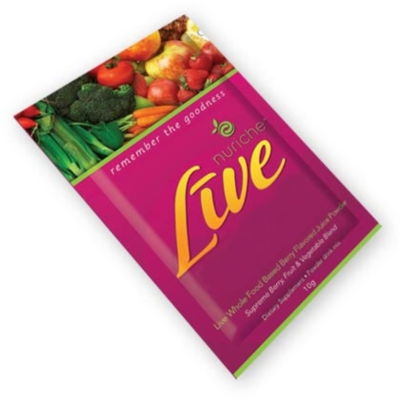 Nuriche LiVE - 10g Go Anywhere Packet