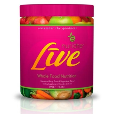 Nuriche LiVE - 300g (10.5oz) Canister