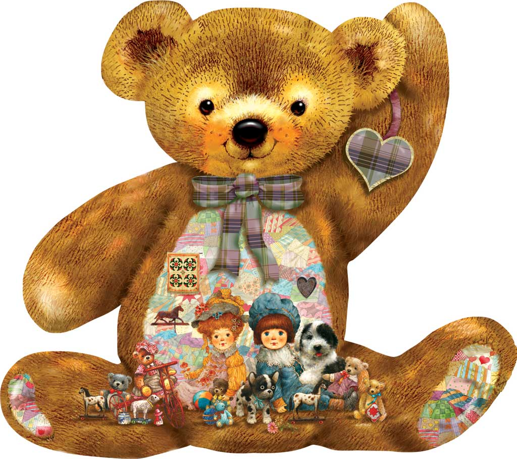 Quilted Teddy