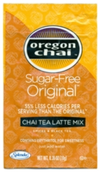 Oregon Chai Mix: Original Sugar Free - Single Serve Packet Case