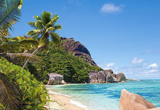 Tropical Beach Seychelles puzzle Castorland
